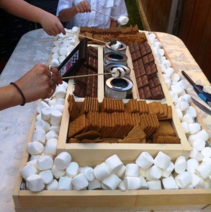 S'mores Roasting Station