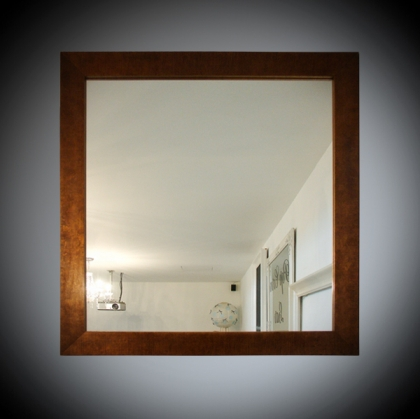 Mirror Frame - Wood dark 78cm x 80cm