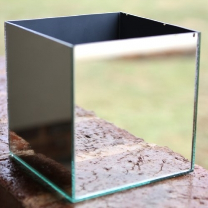 Mirror Box Square 10cm