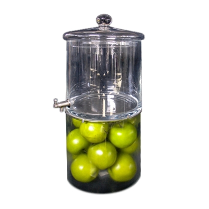Beverage Dispenser - Glass with fruit display