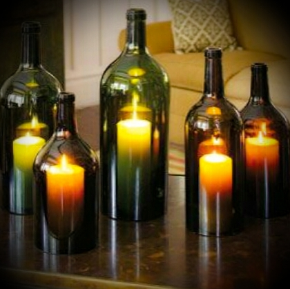 Bottle Candle cover