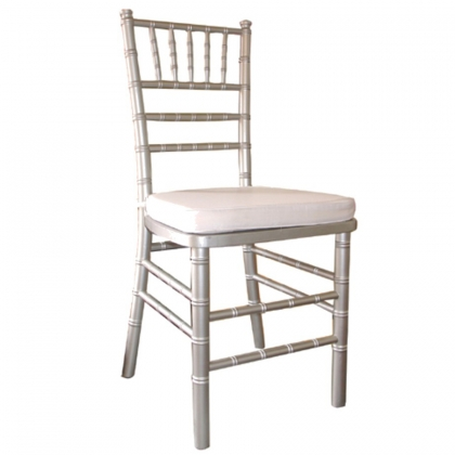 Chair Chiavari Silver wooden