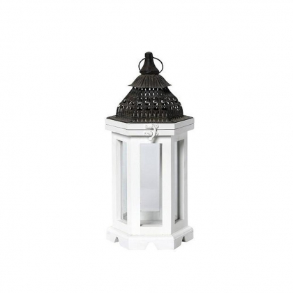 Lantern White Polygon 180X385cm