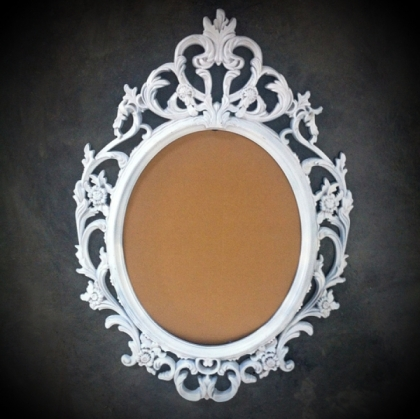 classic round frame