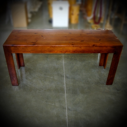 Wooden Cherry coffee Table 45cm x 140cm