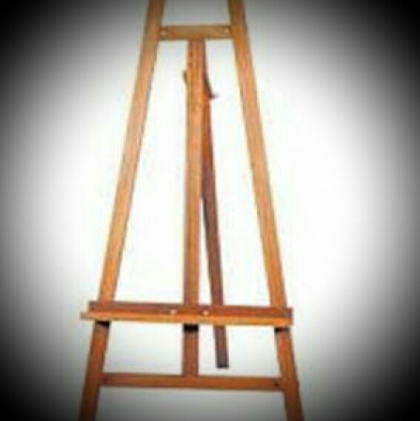 Wooden tripod - Natural color