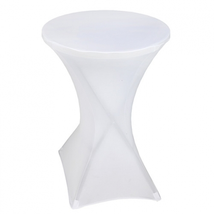 High Top Table - with white spandex