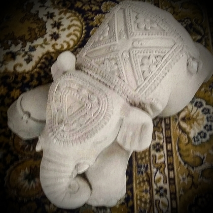 Indian baby elephant  statue