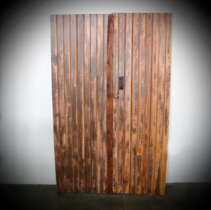 Rustic village wood Door