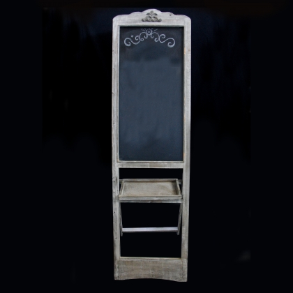 Black board frame stand