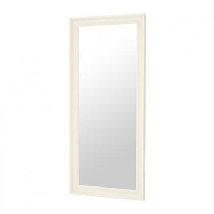 Long White Frame with mirror