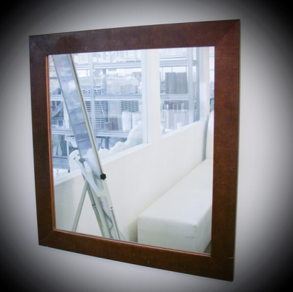 Mirror Frame - Wood dark 66cm x 70cm