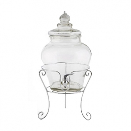 Beverage Dispenser - Glass with stand