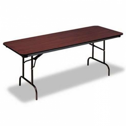 Rectangular table Wood top 180cm x 75cm