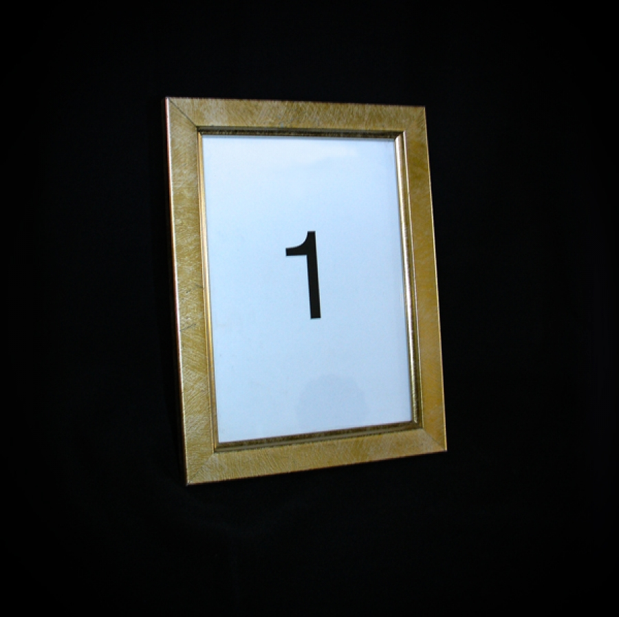 Table number plane gold frame jeuxipadfo Gallery