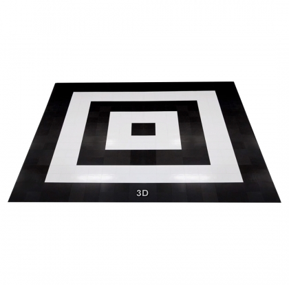 Dance Floor 3D Black & White