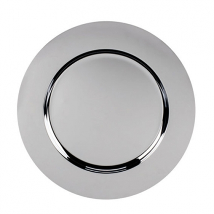 Charger Plate - Stainless Steel