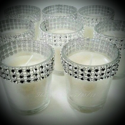Glass Votive Holders Swarovski