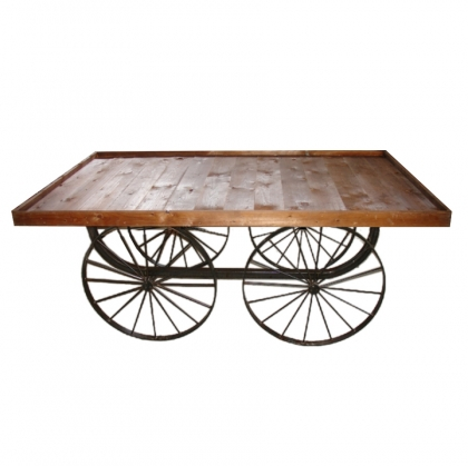 Buffet Table Wagon rustic