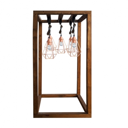 Buffet Light Structure - Wood color