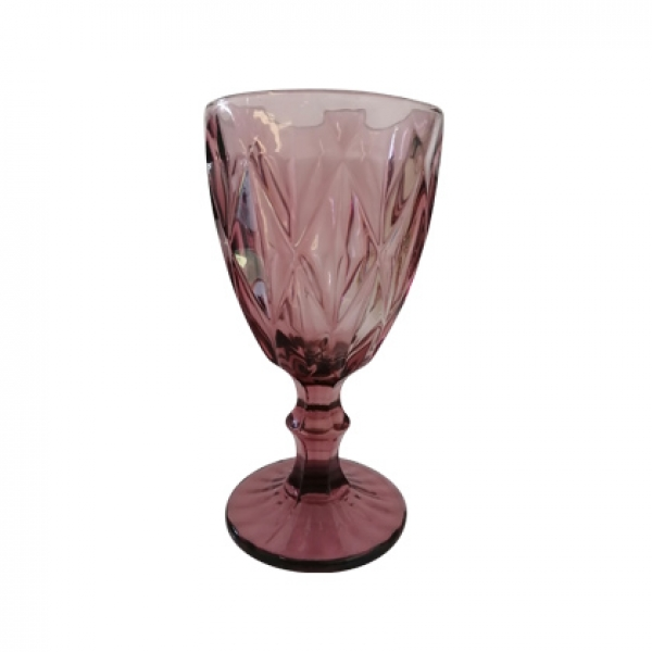 Color Glass Pink white wine