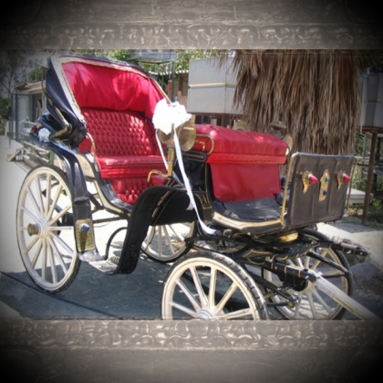 Cinderella Red Carriage