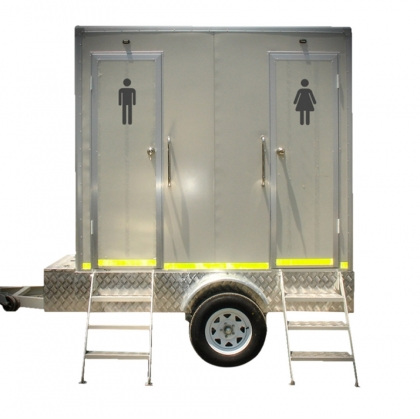 Luxury Toilet Trailer White
