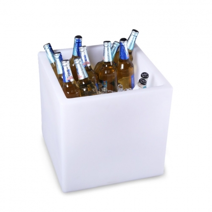 LED Lighed Cube Ice Bucket
