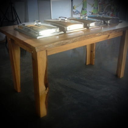 Buffet Table Wooden