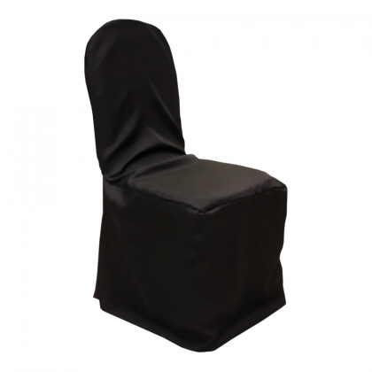 Chair With Cover Black