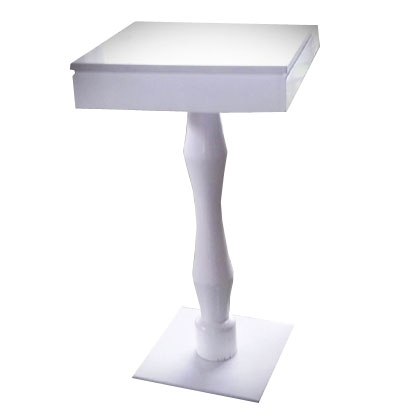 High top Table marble/wood