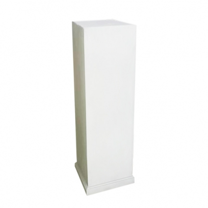 Column Square White Big