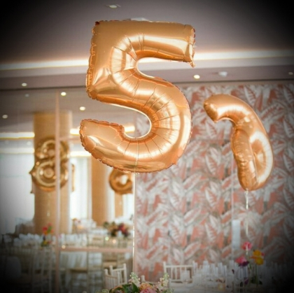 Table Number - Balloon