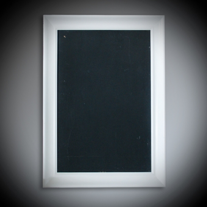 Guest Name black board white Frame