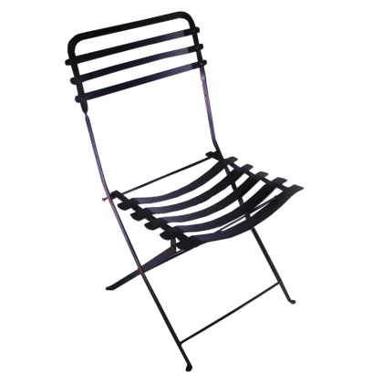 Chair Garden steel black