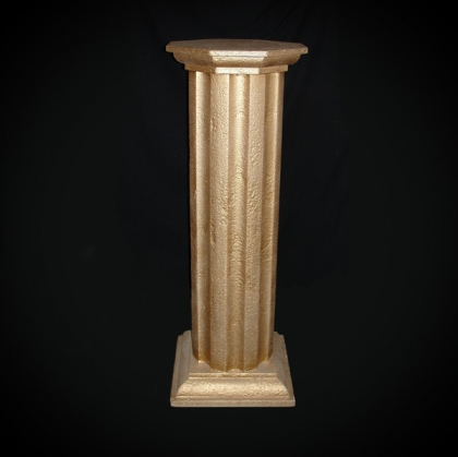 Greek column Gold