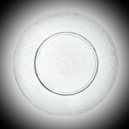 Charger Plate - Clear Glass
