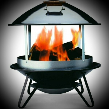 Steel Fire Place
