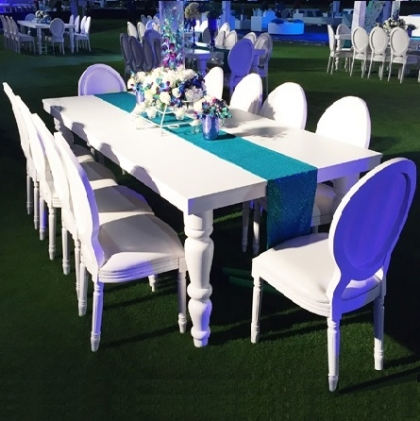 Table Classic White 100x240cm