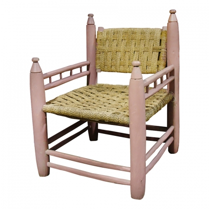 Marrakech Chair salmon pink