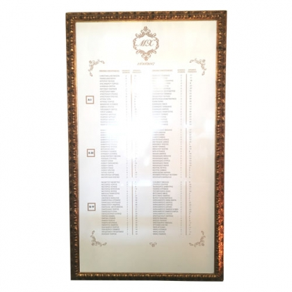 Giant Gold Frame
