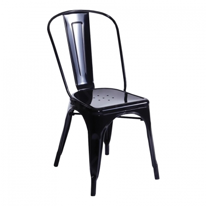 Chair Steel Black