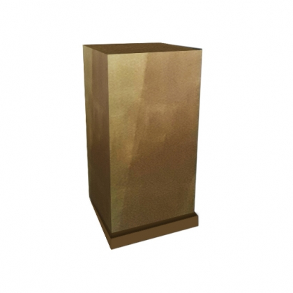 Column Square Gold small