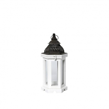 Lantern White Polygon 55χ265cm
