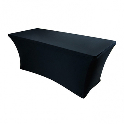 Buffet Table Spandex Black