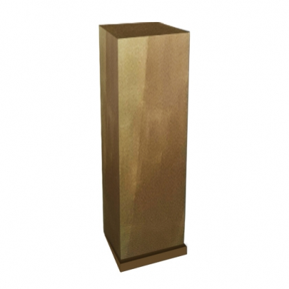 Column Square Gold Big