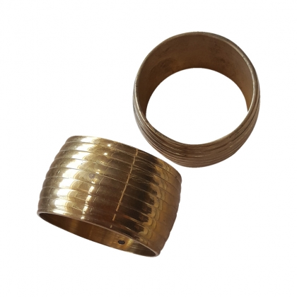 Napkin Ring - Gold