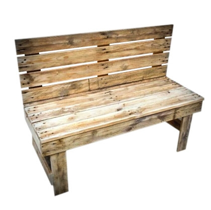 Bench Wooden Rustic