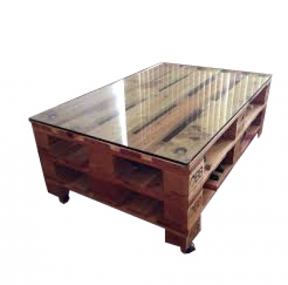 Pallet Coffee Table Brown