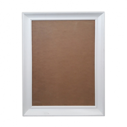 Frame white pin board